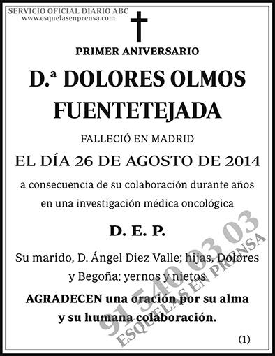 Dolores Olmos Fuentetejada